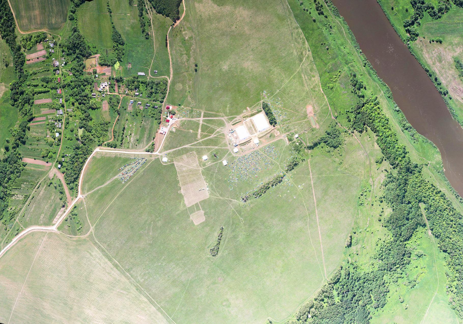 Как сделать фото земельного участка со спутника
